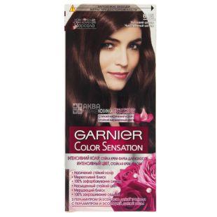 Garnier Color Sensation, Крем-краска для волос, 6.15 Чувственный шатен