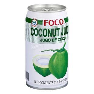 Foco Соковий напiй з кокосу, 0,35 л