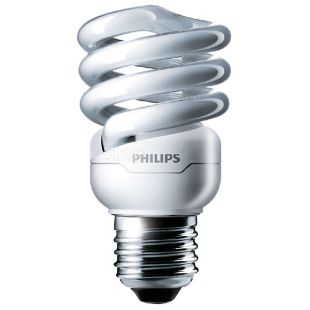 Philips Лампа энергосберегающая E27 20W 220-240V CDL 1CT/12 TornadoT2 8y