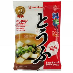 Marukome, Instant Tofu Miso Soup, 8 Servings, 146 g