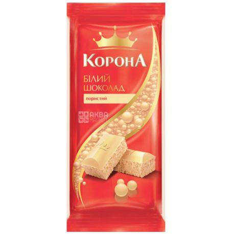 Корона, Шоколад белый пористый, 80 г