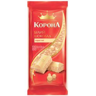 Crown, White porous chocolate, 80 g