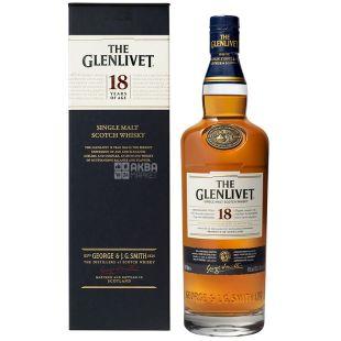 Glenlivet Виски 18 лет 43 % 0,7 л