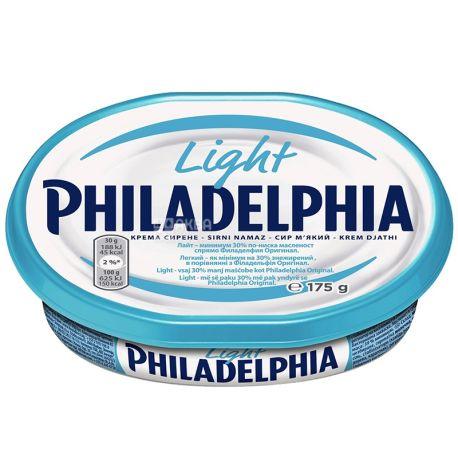 Philadelphia Light, Крем-сыр, Легкий, 175 г
