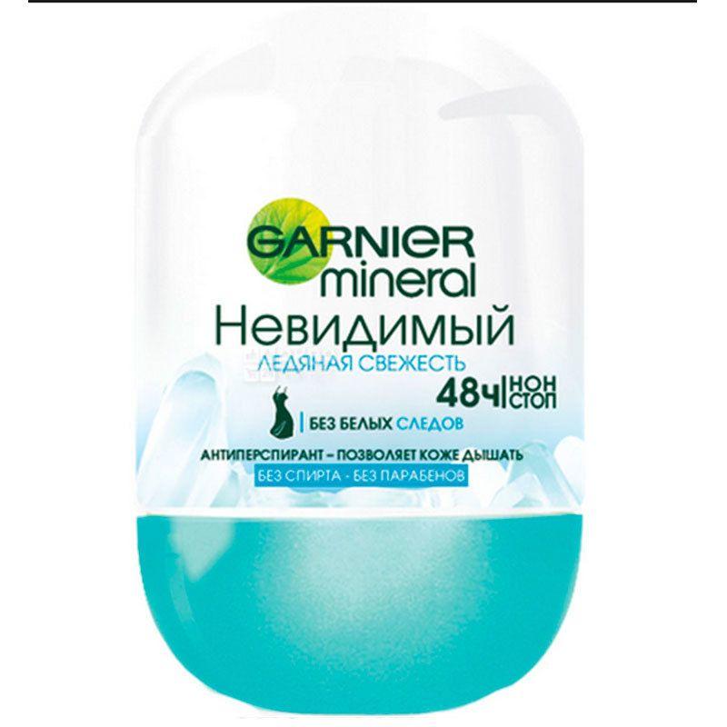Garnier Mineral Ледяная свежесть, Антиперспирант роликовый, 50 мл