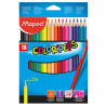 Colored pencils, 18 pcs, TM Maped