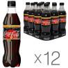 Coca Cola Zero Vanilla, Напиток газированный, 0,5 л, 12 шт