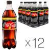 Coca Cola Zero Vanilla, Напиток газированный, 1 л, 12 шт