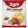 Мини-круассаны с ванильной начинкой, 180 г, ТМ 2go