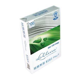 Lettura, Бумага офисная, супер белая, А4, 80 г/м2, 500 л