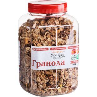 Oats & Honey, 454 г, Гранола Оетс енд Хані, мед, горіхи, вівсяні пластівці, курага, чорнослив, родзинки, яблуко, ананас, банан