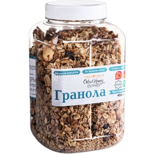 Granola Fruit-nut, honey, 454 g, TM Oats & Honey