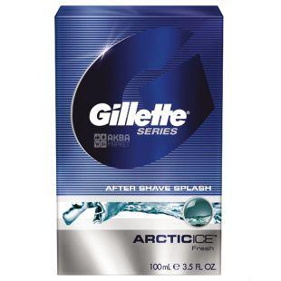Gillette, Лосьйон після гоління, Series Arctic Ice, Збадьорюючий, 100 мл