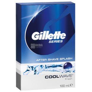 Gillette, Лосьйон після гоління, Свіжий, Cool Wave, 100 мл
