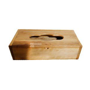 Wooden Fesco napkin dispenser, pencil case