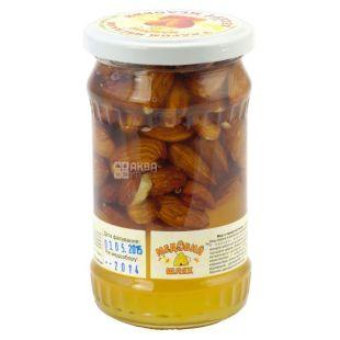 Honey dessert with almond kernel, 370 g, TM Medoviy Shlyakh