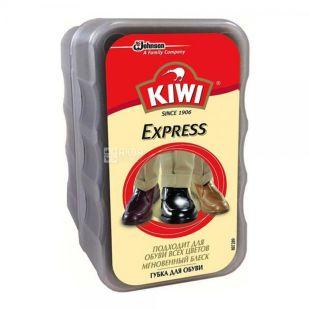 Губка для обуви, без дозатора, бесцветная, 6 мл, ТМ KIWI Express