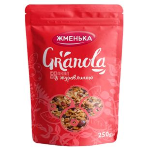 Zhmenka, Granola with Cranberries, 250 g