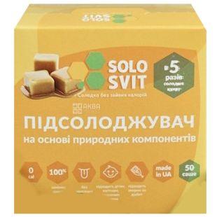 Подсластитель, 50 шт, ТМ SoloSvit