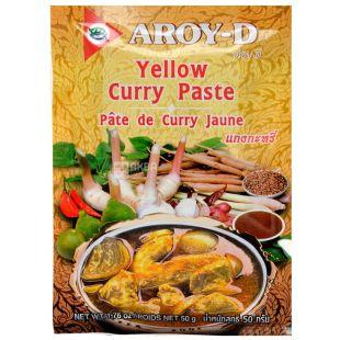 Yellow Curry Paste, 50 g, TM Aroy-D