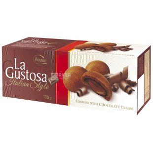 Печенье с шоколадным кремом 150 г, ТМ Bogutti