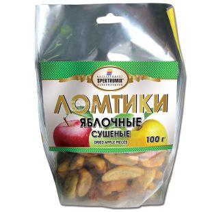 Яблучні скибочки, 100 г, ТМ Spektrumix