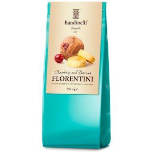 Bandinelli Флорентіні, Печиво з бананом і журавлиною, 150 г