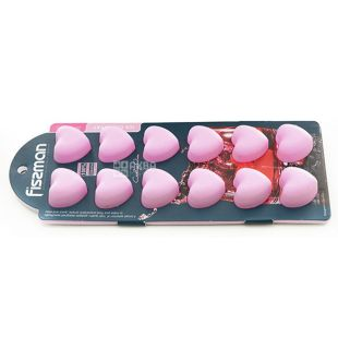 Fissman, Форма сердечки для льда и шоколада на 12 клеточек, 22x9x2,5 см