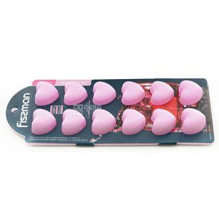 Fissman, Форма сердечки для льоду і шоколаду на 12 клітинок, 22x9x2,5 см
