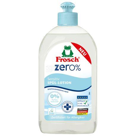 Frosch Zero Sensitiv, Dishwashing Balm, 500 ml