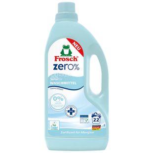 Frosch Zero Sensitiv, Жидкое средство для стирки, 1,5 л
