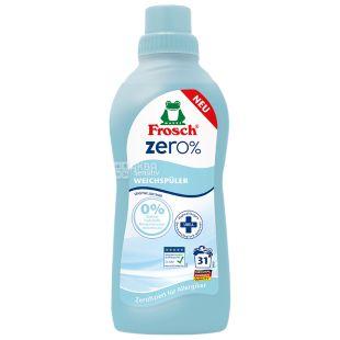 Frosch Zero Sensitiv, Кондиціонер-ополіскувач для прання, 750 мл