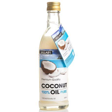 Hillary, Кокосовое масло рафинированное, 250 мл