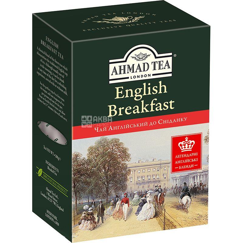 Ahmad Tea, English for breakfast, black tea, large leaf, 200 g