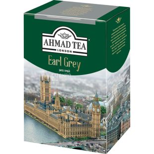 Ahmad Tea Earl Gray, Black tea, leaf, 200 g