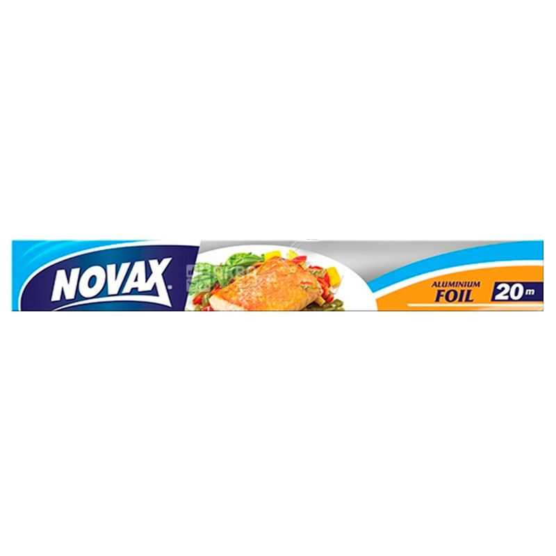 Novax, Фольга алюминиевая, 20 м