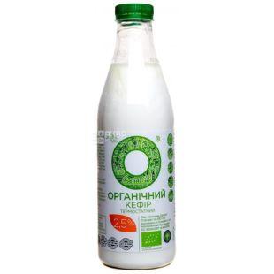 Кефир органический, термостатный, 2,5%, 1000 мл, ТМ Organiс milk