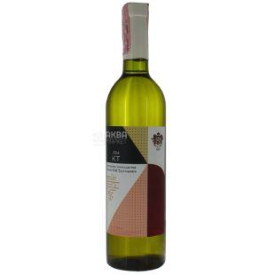 Dry white wine blended, 10-14%, 0.75 l, TM Prince Trubetskoy