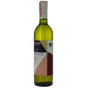 Вино сухое белое купажированное,10-14%, 0,75 л, ТМ Князь Трубецкого