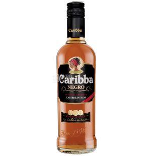 Caribba Negro, Rum, 37.5%, 1 L