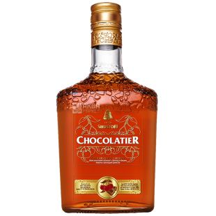 Shustoff Chokolatier, Alcohol-flavored drink with cherry and chocolate flavor, 30%, 0.5 l