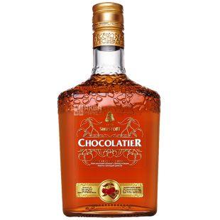 Shustoff Chokolatier, Напиток алкогольный со вкусом вишни и шоколада, 0,5 л