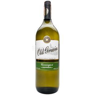 Вино белое сухое Цинандали, 1,5 л, ТМ Old Gruzia