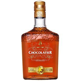 Shustoff Chocolatier, Коньячно-шоколадный напиток, 3 года выдержки, 0,5 л