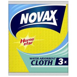 Novax, Серветки вологопоглинаючі, 3 шт