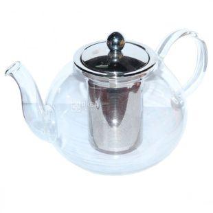 Olens, Чайник заварочный с металлическим ситечком, Индукция, 1300 мл