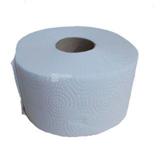 Fesko Jumbo, 1 рул., Туалетний папір Феско Джамбо, 2-х шаровий