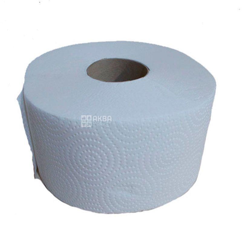 Fesko Jumbo, 1 рул., Туалетная бумага Феско Джамбо, 2-х слойная, 90 м
