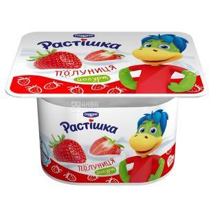 Danone Растишка Клубника Йогурт, 2%, 115 г