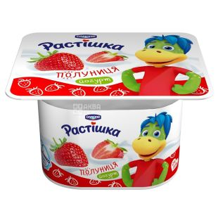 Danone Растішка, Полуниця Йогурт, 2 %, 115 г